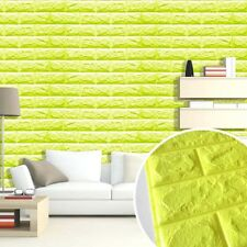 3D Brick Pattern Wallpaper Wall Background TV Bedroom Living Room Decor New