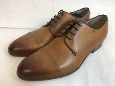 Oliver Sweeney Bridwell Tan Lace up Leather Shoes. UK 8.