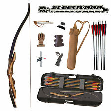 The Fleetwood Archery Edge Takedown Recurve Bow Deluxe Beginners Pro Kit Package