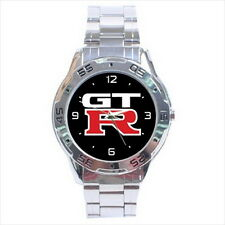 NEW Wrist Watch Stainless Unisex Metal GT-R Skyline GTR
