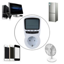 TS-1500 Electronic Energy Meter LCD Energy Monitor Plug-in Electricity Meter DP