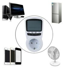 TS-1500 Electronic Energy Meter LCD Energy Monitor Plug-in Electricity Meter WE