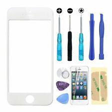 iPhone 5 / iphone 5S White Front Outer Screen Touch Lens Glass Replacement&Tools