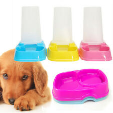 Automatic Pet Bowl Cat Dog Food Water Feeder Portion Control Dispenser Bowl Dish