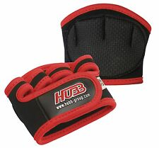 GRIP PADS WEIGHT LIFTING EXERCISE FITNESS POWER GRIPPER GYM STRENGTH TRAINING