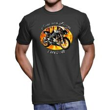 Buell Firebolt Fast And Fierce Men`s Dark T-Shirt