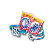 "Roadmaster 643 Single Hook 68"" 6,000 lb Coiled Safety Cables 2 Pack"