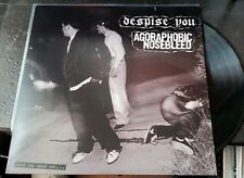 "Despise You/Agoraphobic Nosebleed ""And On and On…""split LP 2011 hardcore grind"