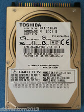 "Toshiba MK1031GAS 100GB 4200RPM 2.5 ""PATA/IDE Hard disk hdd for Laptop upgrade"