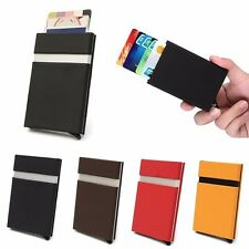 New Aluminum Slim ID Credit Card RFID Protector Holder Purse Secure Wallets Case