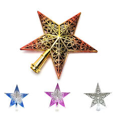 Christmas Tree Star Topper Ornament Party Decoration Xmas New Decoration Star CC