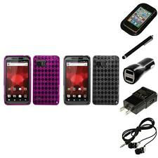 For Motorola Droid Bionic XT875 TPU Rubber Skin Flexible Case Cover Headphones