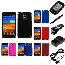 For Samsung Epic Touch 4G D710 Snap-On Hard Case Phone Skin Cover Headphones