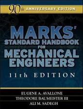 2DAY SHIPPING | Marks' Standard Handbook for Mechanical Engineers 11t, HARDCOVER