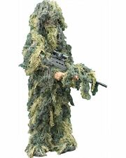 KIDS ARMY GHILLIE SUIT ~ New Children's Boys Camouflage Netting Sniper Suit