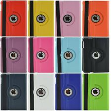 360 Rotating Stand Leather Smart Cover Case For Apple iPad Mini 1 2 3 Pro 9.7""