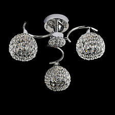 MTN European 5W Crystal Ceiling Lights Modern Simple Garden Hall Bedroom Lamps