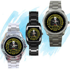 NEW Wrist Watch Stainless Sport Barrel Analogue Macross Squadron Anime