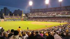 1-4 Milwaukee Brewers @ Pittsburgh Pirates Tickets 5/6/17 Sec 130 Row H PNC