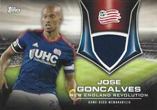 2015 Topps Major League Soccer 'MLS Kits of the Game Relic Card' Numbered to /85