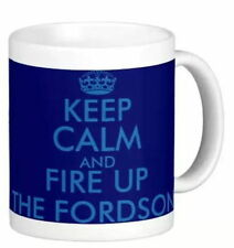 KEEP CALM AND FIRE UP THE FORDSON fun MUG gift for F N E27N Dexta Major tractor