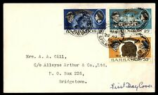 Barbados Girl Guides Golden Jubilee First Day cover 1968