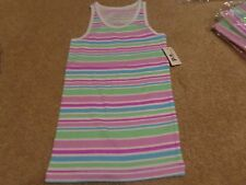aeropostale kids ps girls' striped racerback tank warm multicolor NWT
