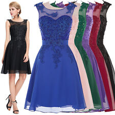 Teen Graduation Cocktail Party Evening Bridesmaid Dress Formal Prom Short Gowns