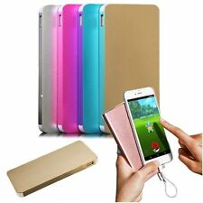 Ultrathin Metal 50000mAh 2USB Power Bank External Backup Pack Battery Charger