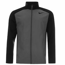 Nike Team Woven Dri-Fit Jacket Mens Grey/Black Jackets Coats Outerwear