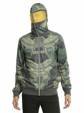 Halo Master Chief Cosplay Full-Zip Hoodie