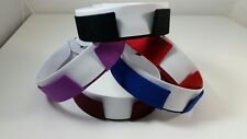 """Clergy Collar, Mercy Robes Double Band Anglican Collarette, 1.25"""" Front Opening"""