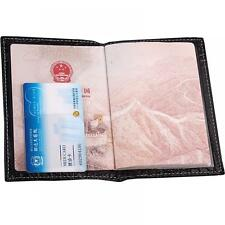 Card Holder Travel Protector Gift Leather Men Women Passport Cover Wallet