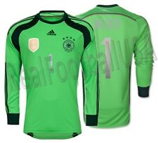 ADIDAS M. NEUER GERMANY GOALKEEPER 4 STARS JERSEY FIFA WORLD CUP 2014 CHAMPIONS.