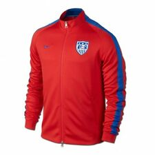 NIKE USA SOCCER TEAM AUTHENTIC N98 TRACK JACKET FIFA WORLD CUP BRAZIL 2014 RED