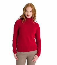 WoolOvers Womens Ladies Lambswool Polo Jumper Sweater Christmas Knitted