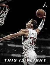 Blake Griffin Basketball Star Art Print poster (24x18inch)Decor 15