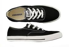 Converse Chuck Taylor Clean CVO Ox Black Unisex Canvas Shoes 118020F