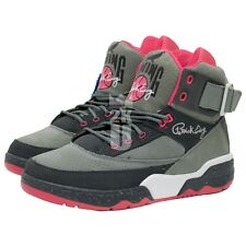 Patrick Ewing Athletics x Staple 33 Hi Sneakers Grey/Pink/White