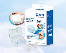Nosk Nose Mask Anti Allergy Asthma HEPA Invisible Nasal Dust Filter (10/20/30pcs