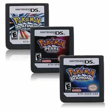 Hot Nintendo Pokémon Platinum Diamond Pearl Version Game Card for 3DS NDS DSI