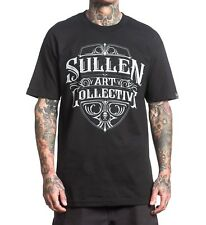 Sullen Crested Mens T -shirt Tee Streetwear Tattoo Art Urban Black
