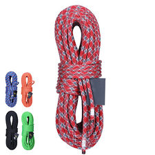 XINDA 10m Climbing Rope Rappelling Rope Auxiliary Rope Static Rope Safety Rescue