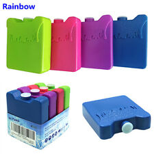 Colorful 4pcs Cooler Ice Pack Reusable Lunch Box Freezer Cold Bag Non Toxic safe