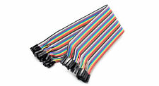 Breadboard Jumper Wires - Female to Female - 40 Pack
