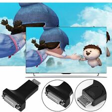 Best Displayport Male to HDMI/DVI 24+5 Female Converter Adapter For PC Laptop DP