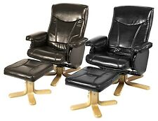 GERONTIUS RECLINER - AVAILABLE IN BLACK & BROWN