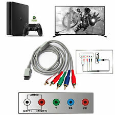 1080P 5RCA 1.8m Component HDTV HD Audio Video AV Cable Cord for Nintendo Wii U