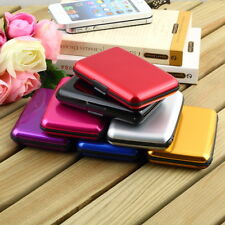 Waterproof Business ID Credit Card Wallet Holder Aluminum Metal Case Box DP