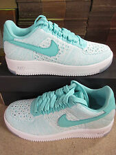 Nike Womens Air Force 1 Flyknit Low Running Trainers 820256 300 Sneakers Shoes